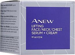 Парфюмерия и Козметика Серум за лице, шия и деколте - Avon Anew Clinical Lift & Firm Pressed Serum
