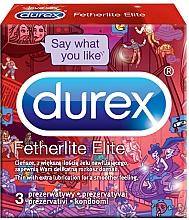 Парфюмерия и Козметика Презервативи - Durex Fetherlite Elite