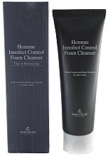 Парфюмерия и Козметика Дълбоко почистваща матираща пяна за мъже - The Skin House Homme Innofect Control Foam Cleanser