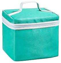 Парфюмерия и Козметика Козметична чанта, тюркоазена 20 x 18 x 20см - Acqua Dell Elba Beauty da Viaggio