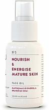 Парфюмерия и Козметика Подхранващо и енергизиращо масло за лице, за зряла кожа - You & Oil Nourish & Energise Mature Skin Face Oil