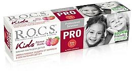 Парфюмерия и Козметика Детска паста за зъби с горски плодове - R.O.C.S. PRO Kids