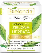 Парфюми, Парфюмерия, козметика Матиращ дневен крем за комбинирана кожа - Bielenda Green Tea Matifying Day Face Cream