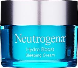 Парфюмерия и Козметика Овлажняващ нощен крем за лице - Neutrogena Hydro Boost Sleeping Cream