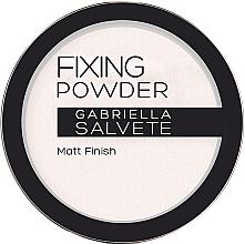 Парфюмерия и Козметика Фиксираща пудра - Gabriella Salvete Fixing Transparent Powder