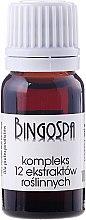 Парфюми, Парфюмерия, козметика Комплекс от 12 растителни екстракта - BingoSpa Complex Of 12 Plant Extracts