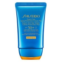 Парфюми, Парфюмерия, козметика Слънцезащитен крем против стареене SPF50 - Shiseido Expert Sun Aging Protection Cream SPF50