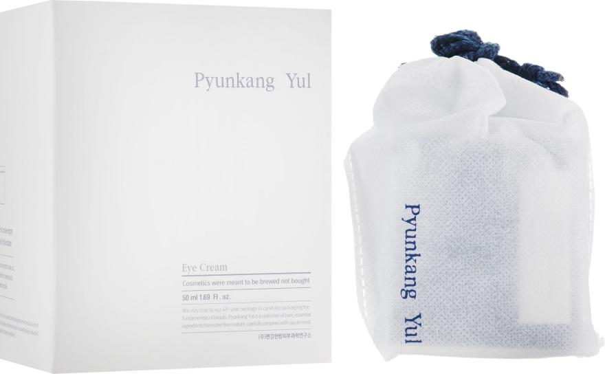 Подхранващ и възстановяващ крем за околоочния контур с есктракт от астрагал и натурални масла - Pyunkang Yul Eye Cream