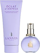 Lanvin Eclat D`Arpege - Комплект (edp/50ml + b/l/100ml) — снимка N2