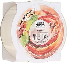 """Парфюмерия и Козметика Соева ароматна свещ """"Ябълков пай"""" - House of Glam French Apple Cake Candle (мини)"""