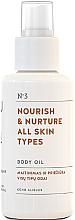 Парфюмерия и Козметика Подхранващо масло за тяло за всеки тип кожа - You & Oil Nourish & Nurture Body Oil