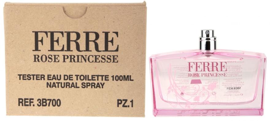 Gianfranco Ferre Rose Princesse - Тоалетна вода (тестер без капачка)  — снимка N4