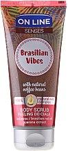 Парфюми, Парфюмерия, козметика Скраб за тяло - On Line Senses Body Scrub Brasilian Vibes