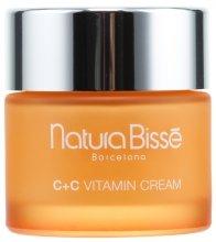 Парфюми, Парфюмерия, козметика Стягащ крем с витамини за нормална и суха кожа - Natura Bisse C+C Vitamin Firming Cream SPF 10