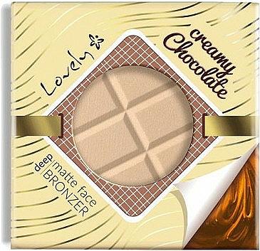 Бронзант за лице - Lovely Creamy Chocolate Deep Matte Bronze