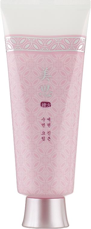 Нощен подхранващ крем с корен от червен японски бор - Missha Yei Hyun Overnight Cream — снимка N2
