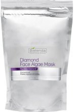 Парфюмерия и Козметика Брилянтна маска за лице - Bielenda Professional Diamond Face Algae Mask (пълнител)