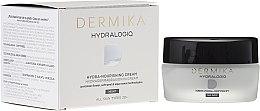 Парфюмерия и Козметика Нощен подхранващ крем за лице - Dermika Hydralogio Hydra Nourishing Face Cream 30+