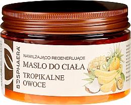 """Парфюмерия и Козметика Хидратиращо и регенериращо масло за тяло """"Тропически плодове"""" - Bosphaera"""