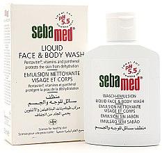 Парфюмерия и Козметика Почистваща емулсия за лице и тяло - Sebamed Liquid Face & Body Wash
