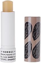 Парфюмерия и Козметика Балсам за устни с екстракт от сладък бадем - Korres Lip Balm Sweet Almond