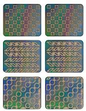 Парфюмерия и Козметика Декориращи лепенки за нокти, 3707 - Neess Patternness