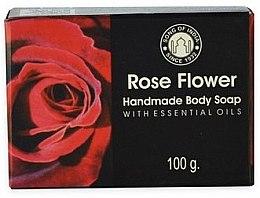 Парфюмерия и Козметика Сапун с роза - Song of India Soap Rose
