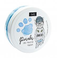 Парфюмерия и Козметика Почистваща пяна за тяло, ръце и коса, синя - LaQ Cleansing Foam
