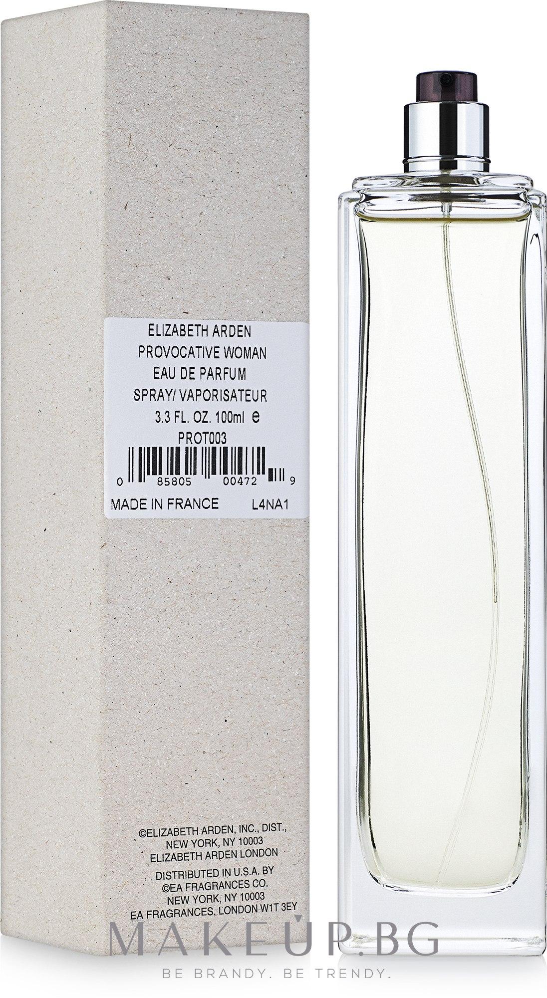 Elizabeth Arden Provocative Woman - Парфюмна вода ( тестер без капачка )  — снимка 100 ml