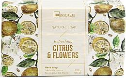 Парфюмерия и Козметика Сапун - IDC Institute Refreshing Hand Natural Soap Citrus & Flowers