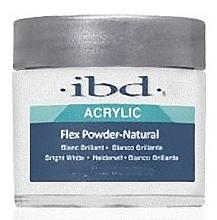 Парфюмерия и Козметика Акрилова пудра, натурална полупрозрачна - IBD Flex Polymer Powder Natural