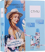 Парфюмерия и Козметика C-Thru Wanderlust Dream - Комплект (тоал. вода/30ml + део/150ml)