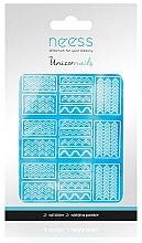 Парфюмерия и Козметика Декориращи лепенки за нокти, 3694 - Neess