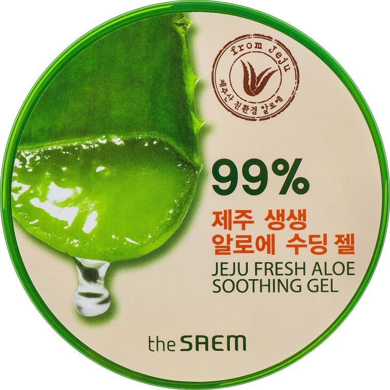 Универсален гел със 99% алое - The Saem Jeju Fresh Aloe Soothing Gel 99%