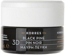 Парфюми, Парфюмерия, козметика Нощен укрепващ крем против бръчки с черен бор - Korres Black Pine 3D Scuplting Firming and Lifting Night Cream