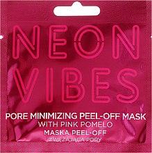 Парфюмерия и Козметика Маска за лице с екстракт от розово помело - Marion Neon Vibes Pore Minimizing Peel-off Mask