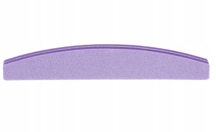 Пила за нокти 100\180, лилава - Tools For Beauty
