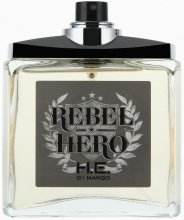 Парфюмерия и Козметика Mango Rebel Hero - Тоалетна вода (тестер без капачка)