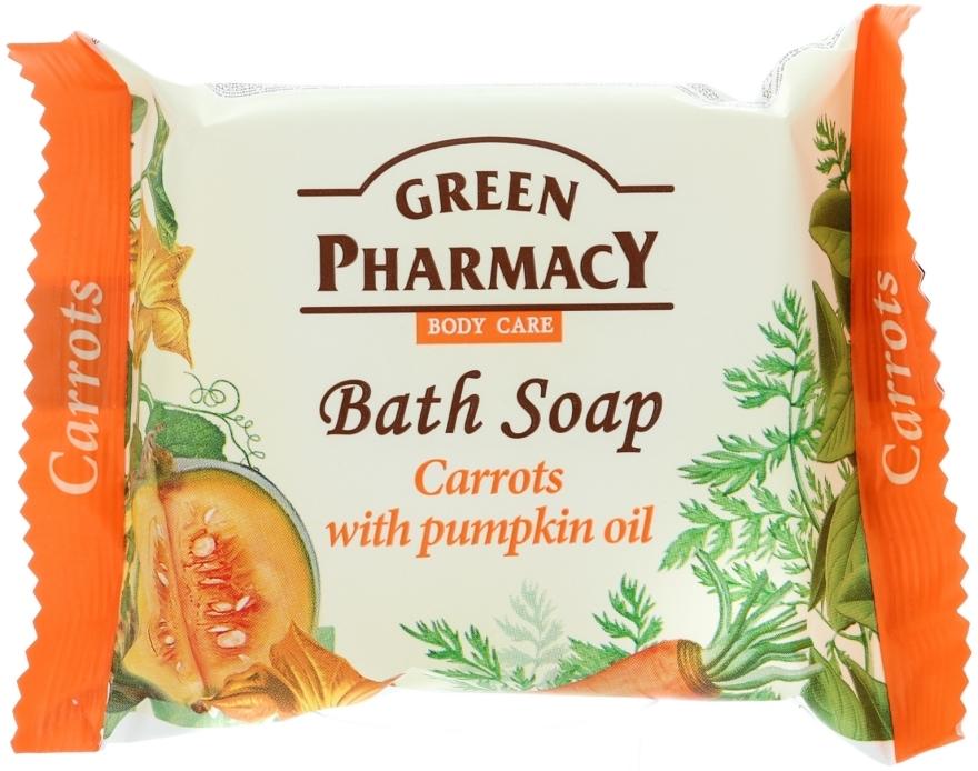 """Сапун """"Моркови с тиквено масло"""" - Green Pharmacy"""