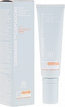 Парфюмерия и Козметика Коригиращ крем за лице - Germaine de Capuccini B-Calm Correcting Moisturising Cream SPF20