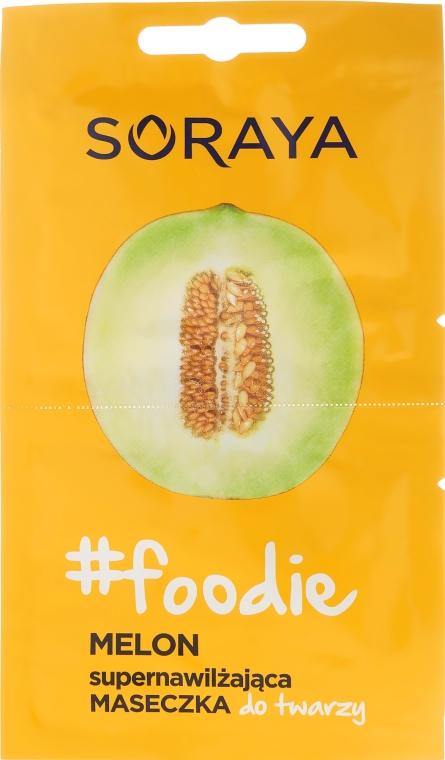 Маска за лице с екстракт от пъпеш - Soraya Foodie Melon Super-Hydrating Face Mask