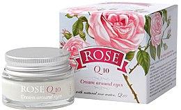 Парфюмерия и Козметика Околоочен крем Q10 - Bulgarian Rose Rose Q10 Cream Araund Eyes