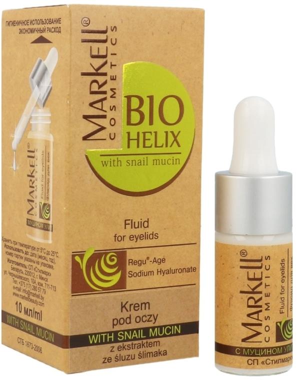 Околоочен крем с екстракт от охлюв - Markell Cosmetics Bio-Helix Cream