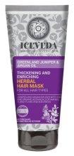 Парфюмерия и Козметика Маска за коса - Natura Siberica Iceveda Greenland Juniper&Argan Oil Thickening and Enriching Herbal Hair Mask