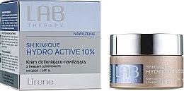 Парфюми, Парфюмерия, козметика Кислороден хидратиращ дневен крем за лице - Lirene Lab Therapy Moisture Shikimique Hydro Active 10% Cream SPF15