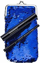 Парфюмерия и Козметика Комплект - NoUBA Eye'M Mascarone Triple Volume Mascara (спирала/6.5g + молив за очи/1.1g + чантичка)