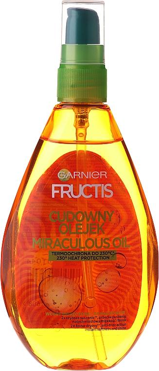 """Масло за коса """"Арганово масло"""" - Garnier Fructis"""