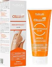 Парфюми, Парфюмерия, козметика Антицелулитен крем за тяло - Floslek Slim Line Anti-Cellulite Body Cream Cellu Off