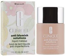 Парфюми, Парфюмерия, козметика Фон дьо тен за проблемна кожа - Clinique Anti-Blemish Solutions Liquid Makeup
