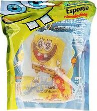 """Парфюмерия и Козметика Детска гъба за баня """"Спондж Боб"""" 1 - Suavipiel Sponge Bob Bath Sponge"""